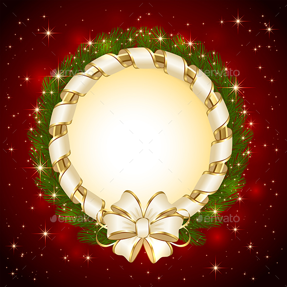 Background with Christmas Decoration - Christmas Seasons/Holidays