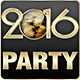 2016 New Year Party Flyers. 5 Different Styles. - GraphicRiver Item for Sale