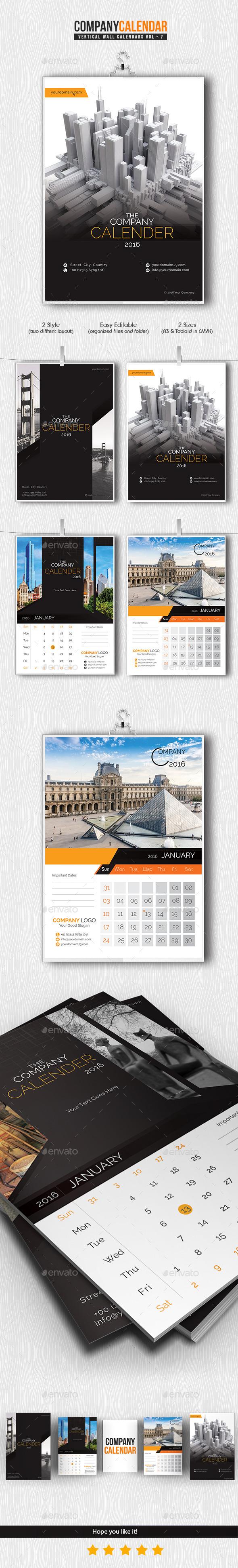 Calendar Pack 2016 - Calendars Stationery