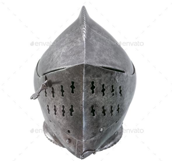 Isolated Warriors Helmet - Stock Photo - Images