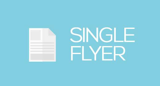 Single Flyer