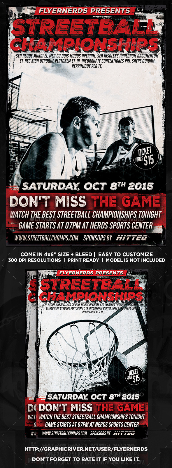 StreetBall Championships Sports Flyer - Sports Events