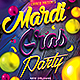 Mardi Gras Carnival Party - GraphicRiver Item for Sale
