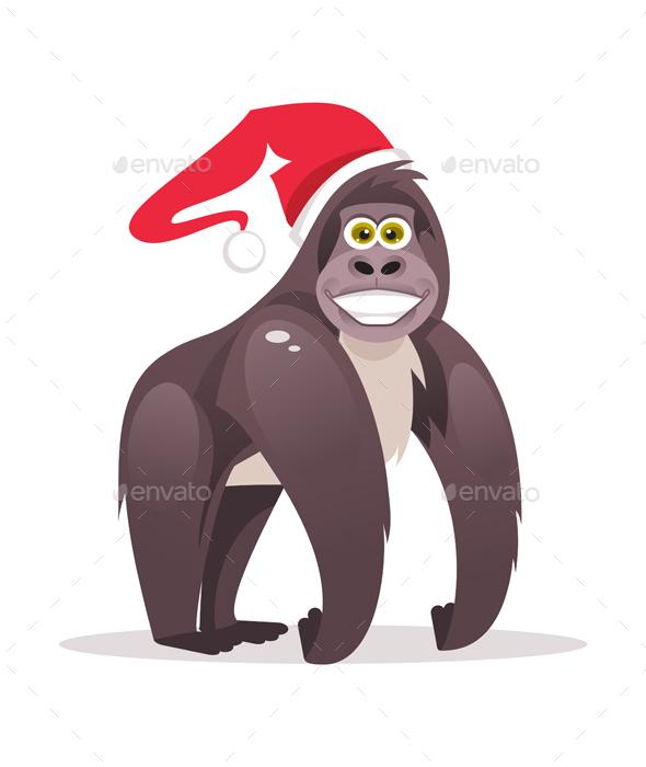 Christmas Monkey - Christmas Seasons/Holidays