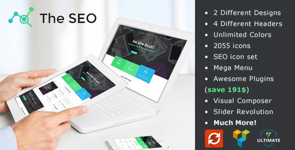 The SEO – Digital Marketing Agency WordPress Theme