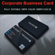Corporate Business Card vol :9 - GraphicRiver Item for Sale