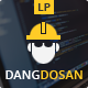 Dangdosan modern construction template - ThemeForest Item for Sale
