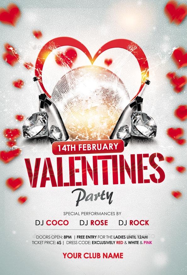 01_Valentine Party Flyer ...