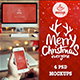 4 PSD Christmas Mockups - iMac, Macbook, iPad, iPhone - GraphicRiver Item for Sale