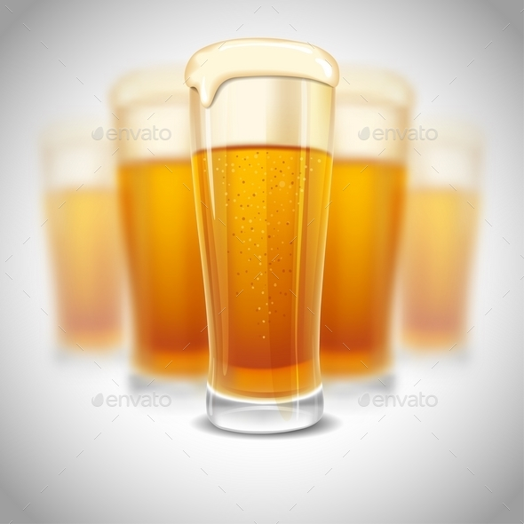 Glass Of Beer - Seasons/Holidays Conceptual
