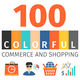 Commerce And Shopping Colorful Icons - GraphicRiver Item for Sale