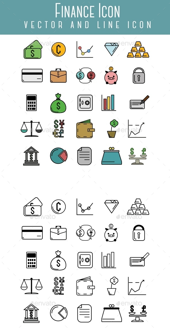 Finance Icon - Business Icons