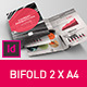 Brochure 2xA4 Bifold Indesign Template - GraphicRiver Item for Sale
