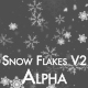 Snow and Snow Flakes V2 - VideoHive Item for Sale