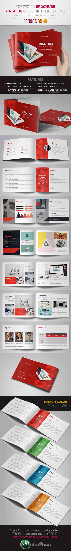 Portfolio Brochure InDesign v6 - Corporate Brochures