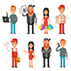 Different Characters - GraphicRiver Item for Sale
