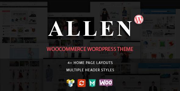 Allen – Multipurpose Responsive WooCommerce Theme