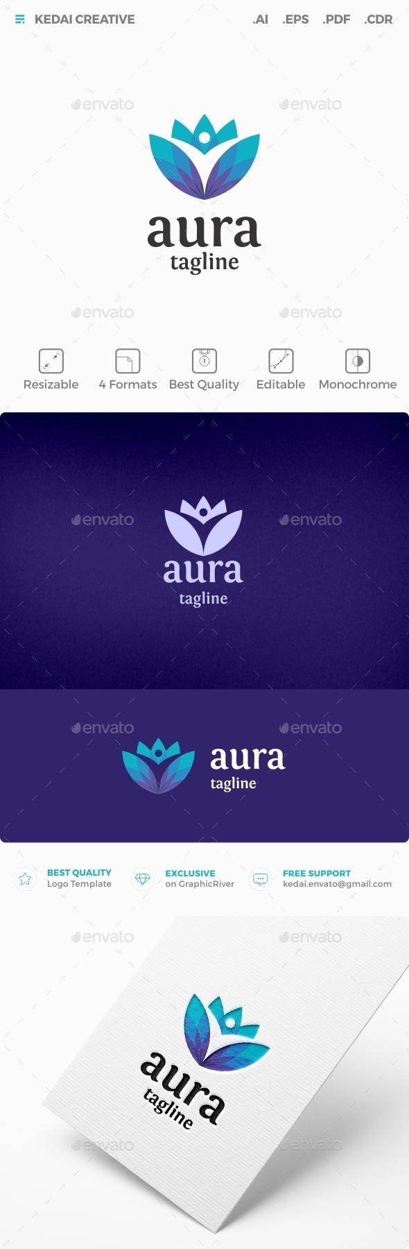 Aura - Humans Logo Templates