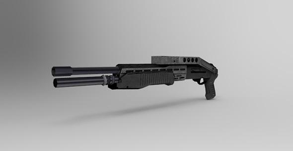 Shotgun - 3DOcean Item for Sale
