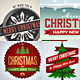 Christmas Badges Lables - GraphicRiver Item for Sale