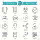Contacts Line Icons - GraphicRiver Item for Sale