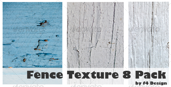 Fence Texture 8 Pack - Wood Textures