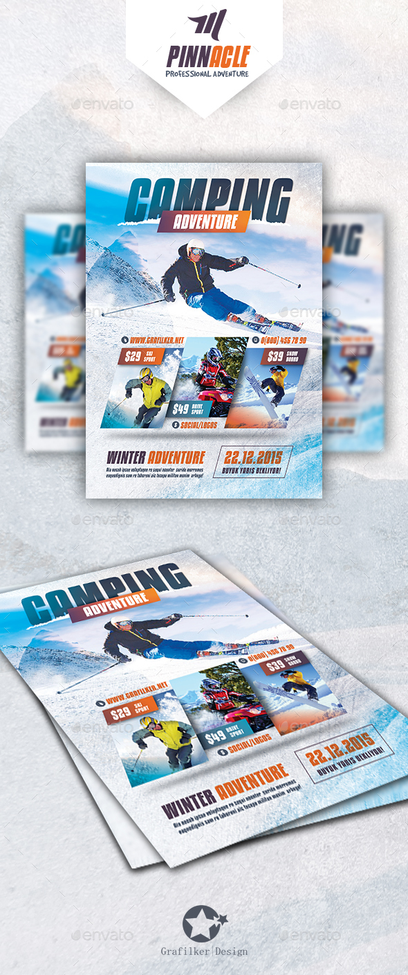 Adventure Flyer Templates - Corporate Flyers