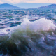 Stormy Sea With Waves Splashing 5 - VideoHive Item for Sale