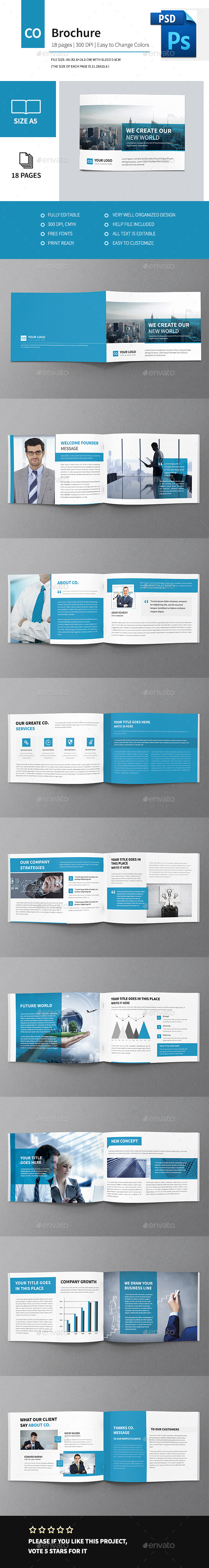Corporate Multipurpose Business Brochure - Corporate Brochures