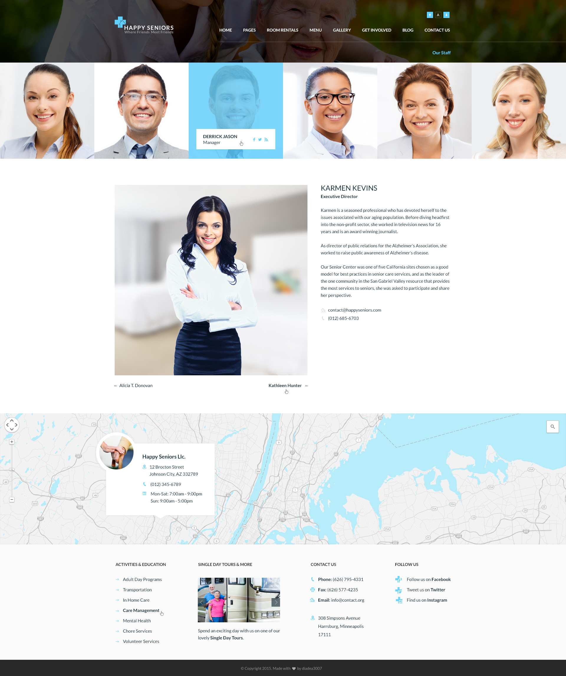 Happy seniors senior care psd template by diadea3007 themeforest 19staff board members detailedg pronofoot35fo Images