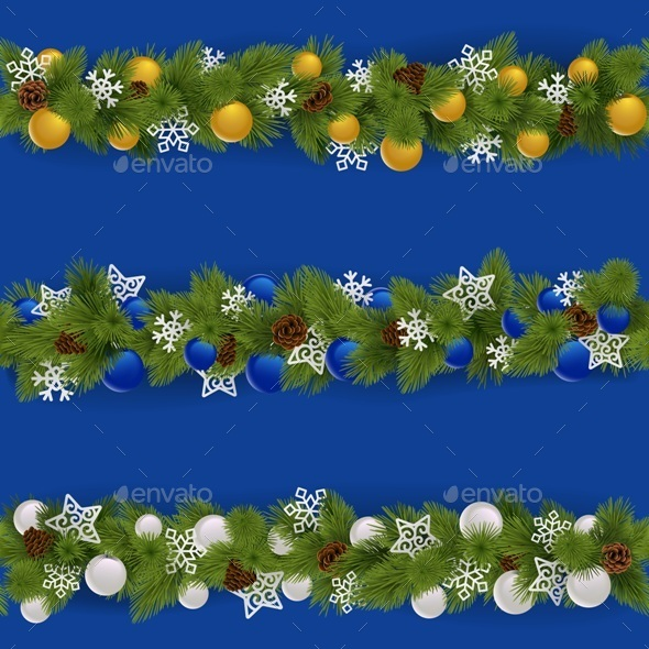 Christmas Borders Set 2 - Christmas Seasons/Holidays