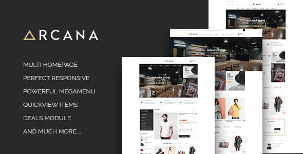 Image of Leo Arcana Responsive Prestashop 1.6 and 1.7.3.x Theme