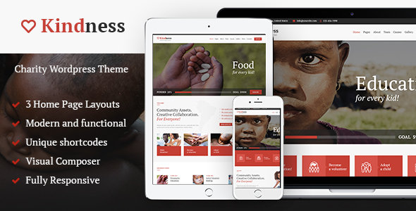 Kindness – Charity & Donation Organization Theme