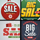 Christmas Sale Badges - GraphicRiver Item for Sale