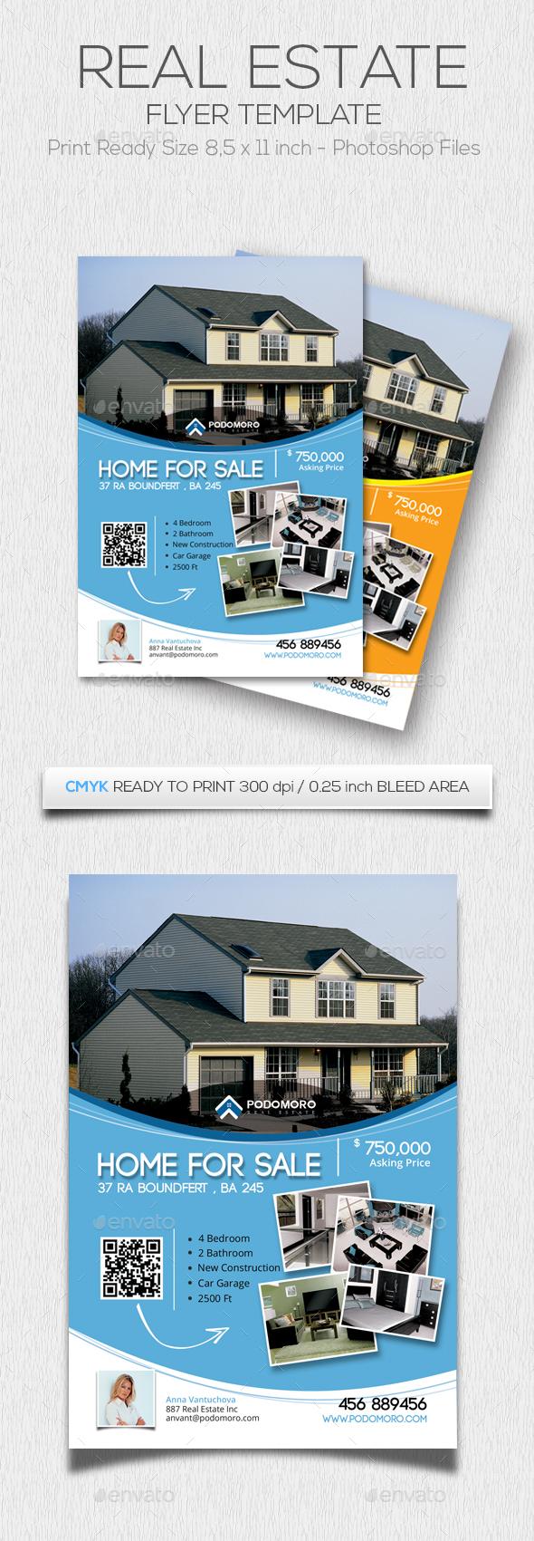 Podomoro Estate Flyer - Corporate Flyers