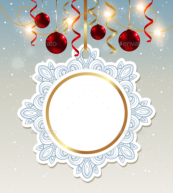 Decorative Christmas Banner  - Christmas Seasons/Holidays