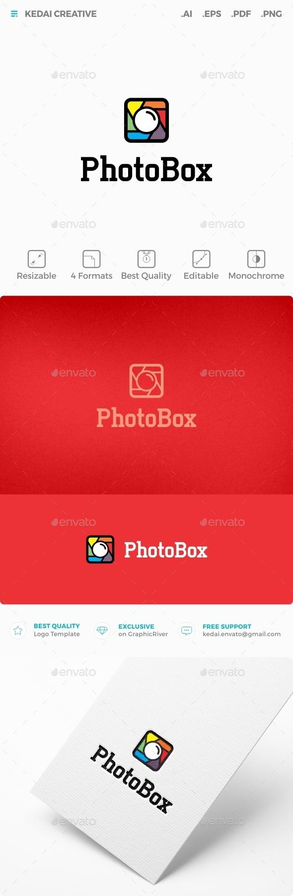 Photobox - Symbols Logo Templates