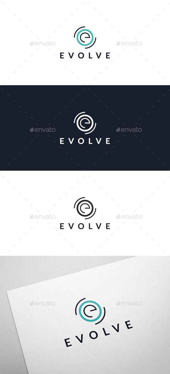 Evolve - Logo Template - Letters Logo Templates