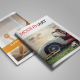 Magazine Layout Template Issue 15 - GraphicRiver Item for Sale