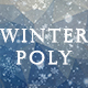Winter Polygon Backgrounds - GraphicRiver Item for Sale