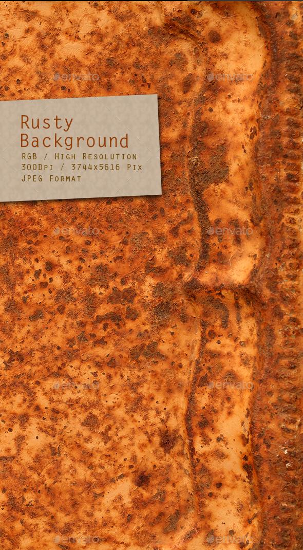 Rusty Background 0240 - Metal Textures