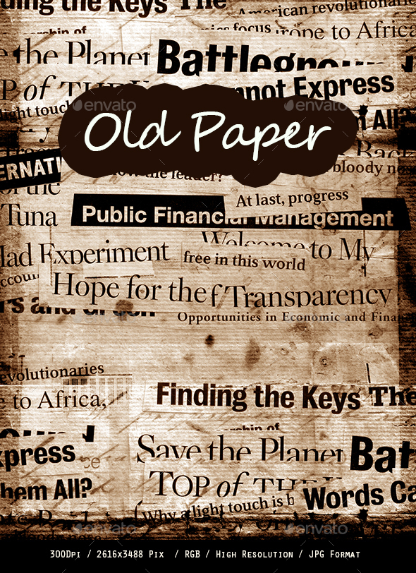 Old Paper 0247 - Paper Textures