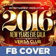 NYE Gala Party Facebook Timeline Cover - GraphicRiver Item for Sale
