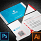 Bundle- 2 in 1 Business Card_08 - GraphicRiver Item for Sale