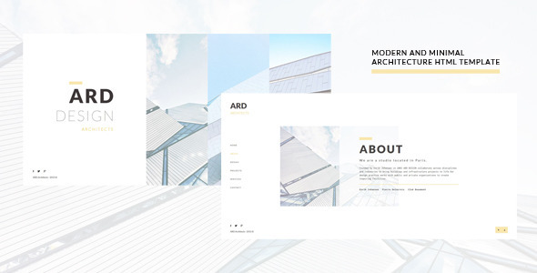 ARD – Architect HTML Template