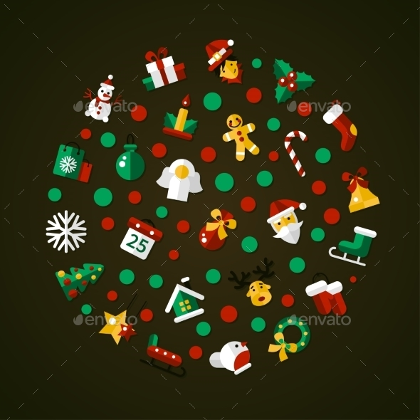 Christmas And Happy New Year Postcard - New Year Seasons/Holidays