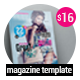 Elit Magazine Template 22 Pages - GraphicRiver Item for Sale