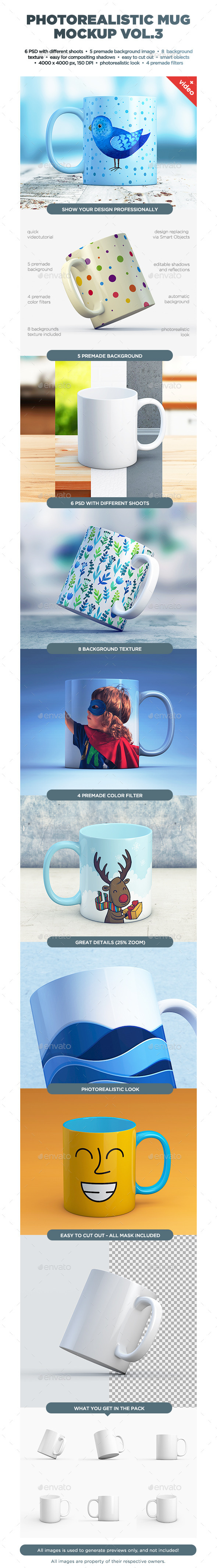Mug Mock-up vol.3 - Food and Drink Packaging