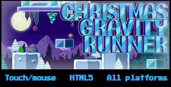 Christmas Gravity Runner - CodeCanyon Item for Sale