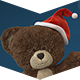 Christmas Teddy Bear Greetings - VideoHive Item for Sale